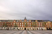 Market Square in Fredericia city, Denmark — Stock Photo