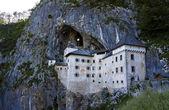 Château de predjama dans la grotte de postojna, slovénie — Photo