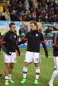 Football game Shakhtar Donetsk vs Bayern Munich — Stock Photo