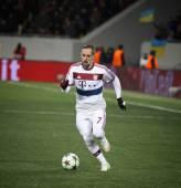サッカー ゲーム シャフタール ・ ドネツク vs バイエルン ミュンヘン — ストック写真