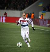 Partita di calcio Shakhtar Donetsk vs Bayern Monaco — Foto Stock