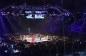 "Palace of Sports in Kyiv during ""Evening of Boxing"" — Foto de Stock"
