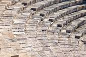 Ancient theater in Kourion, Cyprus — Stockfoto