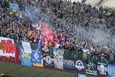 UEFA Europa League Final football game Dnipro vs Sevilla — Stock Photo
