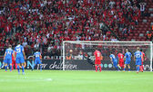 UEFA Europa League Final game Dnipro vs Sevilla — Stock Photo