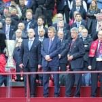 VIP guests of UEFA Europa League Final — Stock Photo #77844466