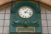 Main hall of Sao Bento Railway Station in Porto city, Portugal — Stock Photo