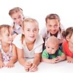 Kids on white — Stock Photo #51807537