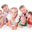 Kids on white — Stock Photo #51807549
