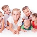 Kids on white — Stock Photo #51807549