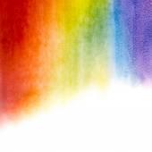Akwarela tęcza tło — Zdjęcie stockowe