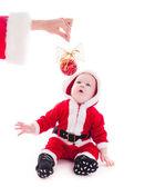 Santa boy — Stock fotografie