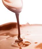 Chocolate flow — Стоковое фото