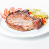 Grilled loin — Stock Photo