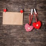 Valentine hearts — Stock Photo #56239123