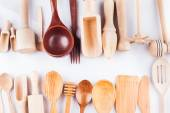Wooden utensils — Stock Photo