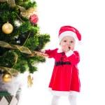 Santa baby girl — Stock Photo #58807139
