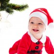 Santa baby girl — Stock Photo #58807185
