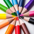 Rainbow color pencils — Stock Photo #59479779