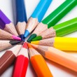 Rainbow color pencils — Stock Photo #59479807