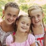 Three girls — Stock Photo #68323079