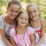 Three girls — Stock Photo #68323083