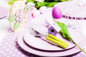 Easter serving — Stock Photo