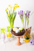 Easter decorations — Stock Photo
