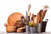 Wooden untersils — Stock Photo
