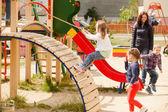 Children at the playground — Stock Photo