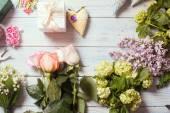 Florist workplace — Stock Photo