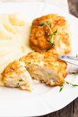 Patates pirzola — Stok fotoğraf