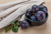 Ripe fresh plum — Stock Photo