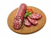 Salami sausages — Stock Photo