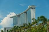 SINGAPORE - MAY 11: Marina Bay Sands Integrated Resort on May 11 — Stock Photo