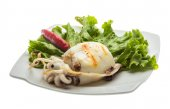 Grilled cuttlefish — Stock Photo