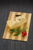 Maasdam cheese — Stock Photo