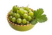 Green Gooseberries — Stock Photo