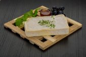Brie cheese — Stock Photo
