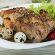 Quail grilled — Stock Photo #58047967