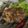 Quail grilled — Stock Photo #58049921