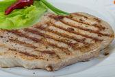 Grilled t-bone steak — Stock Photo