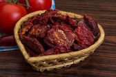 Dried tomtoes — Stock Photo