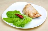Grilled turkey steak — Fotografia Stock