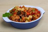 Nicoise salad with tuna — Stock Photo