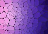 Flat Style. Violet mosaic abstract background — Vector de stock