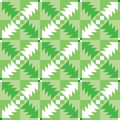 Seamless pattern with chrismas trees. — Vettoriale Stock