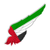 United Arab Emirates flag — Stock Vector