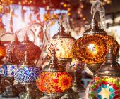 Tuskish Lanterns on sale — Stock Photo