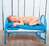 Baby boy sleeps — Stock Photo
